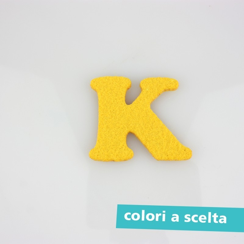 "LETTER COLORED FELT - ""A"" CAPITALIZED"