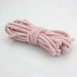 CORDONCINO IN FELTRO Ø 3 MM ROSA