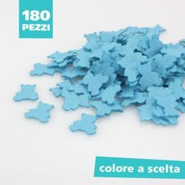 KIT RISPARMIO 180 ORSETTI IN PANNOLENCI COLORATO