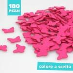 KIT RISPARMIO 180 FARFALLINE IN PANNOLENCI COLORATO