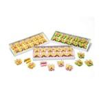 2 MOLLETTEIN FELTRO STAMPATO - FARFALLA