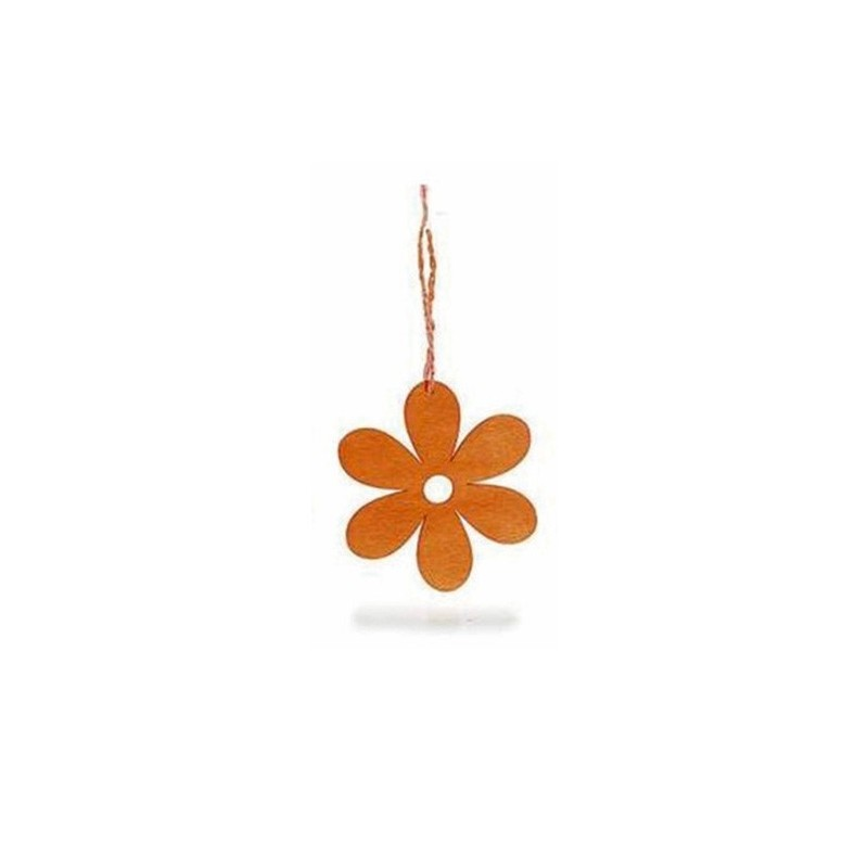 16 DECORATIONS IN FELT - FLOWERS AND BUTTERFLIES