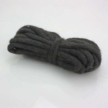 CORD IN FELT-Ø 3 MM-BROWN