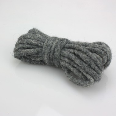 CORD IN FELT, Ø 3 MM, DARK GREY