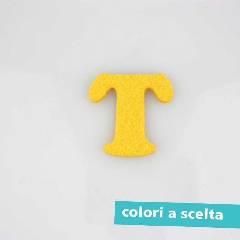"""LETTERA IN FELTRO COLORATO - """"S"""" MAIUSCOLO"""