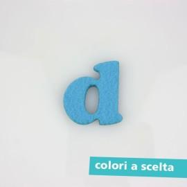 """LETTERA IN FELTRO COLORATO - """"b"""" MINUSCOLO"""